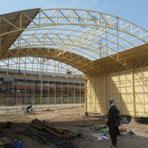 FRP fiberglass Roof Shade and shed
