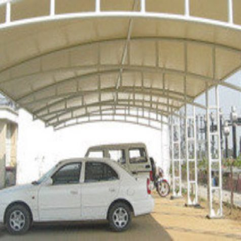 FRP fiberglass Roof Shade and shed1