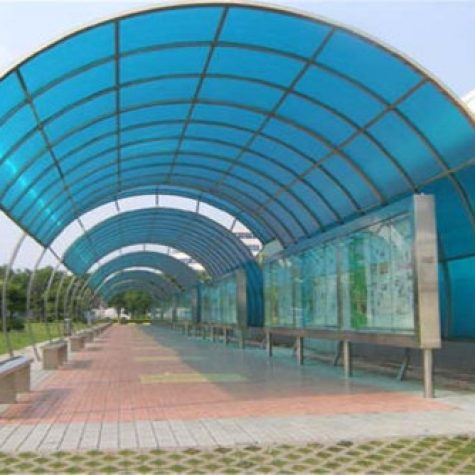 FRP fiberglass Roof Shade and shed9