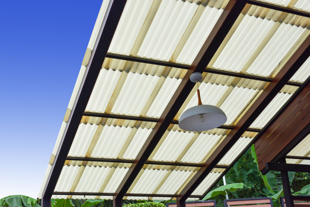 Fiberglass Roof Sheets Translucent Skylight Syed